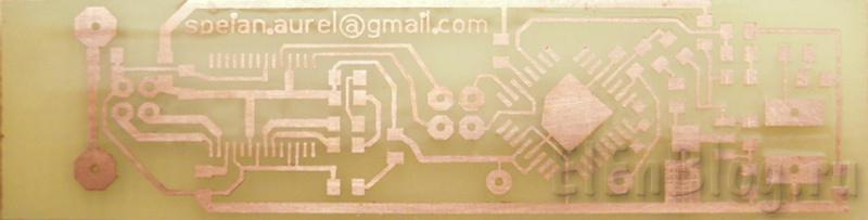 Измеритель-напряжения-с-передачей-данных-на-ПК-по-USB_izmeritel-naprjazhenija-s-peredachej-dannyh-na-pk-po-usb_Плата до лужения