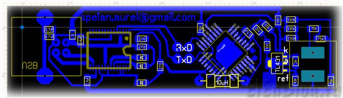 Измеритель-напряжения-с-передачей-данных-на-ПК-по-USB_izmeritel-naprjazhenija-s-peredachej-dannyh-na-pk-po-usb_Четёж