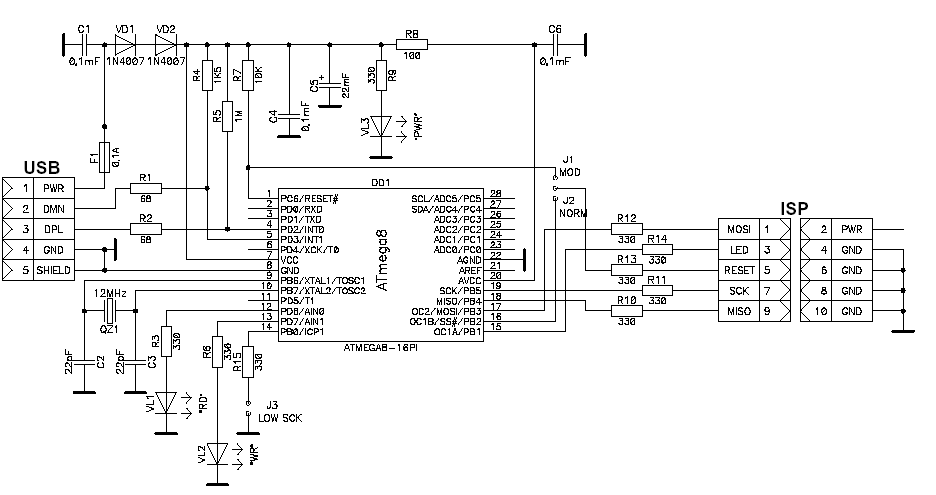 Программатор-для-AVR-usb.(AVR910)_Programmator-dlja-AVR-usb.(AVR910)_AVR910