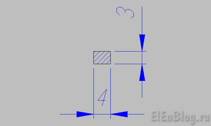Как-намотать-трансформаторВторичная-обмотка-12В,-0,5А. (Расчёт-и-перемотка-трансформатора-#4.2)_Размеры-шины-для-намотки-трансформатора