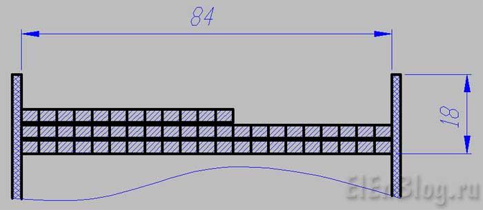 Как-намотать-трансформаторВторичная-обмотка-12В,-0,5А. (Расчёт-и-перемотка-трансформатора-#4.2)_Схема-намотки-вторичной-обмотки