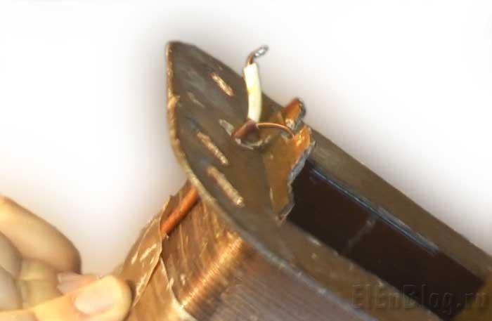 Как-намотать-трансформаторПервичная-обмотка-(Расчёт-и-перемотка-трансформатора-#4.1)_Выведенный-отвод