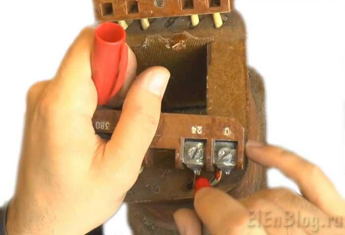 Как-разобрать-трансформатор_Kak-razobrat'-transformator_Отмечаем-обмотку