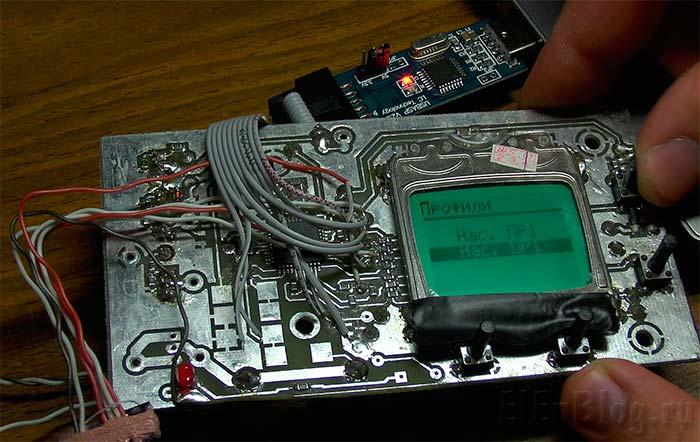 Клонирование-чипов_клонированный-микроконтроллер-работает