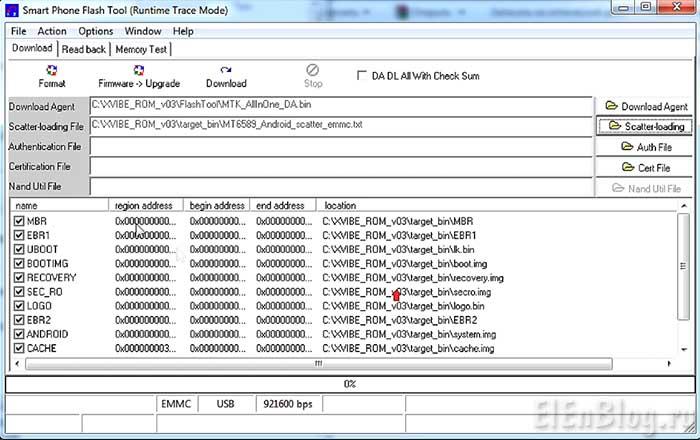 10-(lenovo p780 2014 год выпуска, прошивка) - Preloader закрыт, разделы начинаются с MBR
