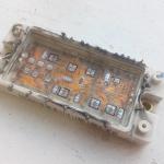 IGBT трёхфазный модуль, вид из нутри
