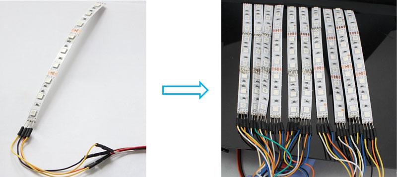 Kak sdelat' LED Begushhuju Stroku na Arduino v EasyEDA4