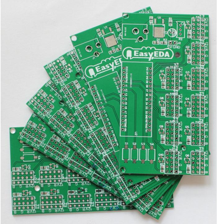 Kak sdelat' LED Begushhuju Stroku na Arduino v EasyEDA8